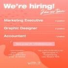 หางาน สมัครงาน บริษัท วิทอิท กรุ๊ป จำกัด 1