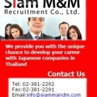 apply job Siam M M Recruitment 1